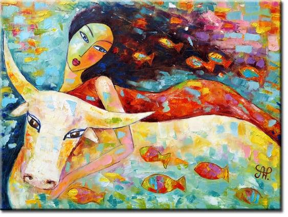 Obrazy olejne ręcznie malowane
