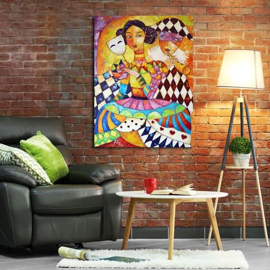 Nowoczesne obrazy olejne to połączenie tradycji i nowoczesnej tematyki