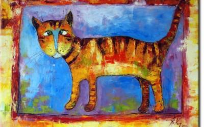 Malowane obrazy na płótnie
