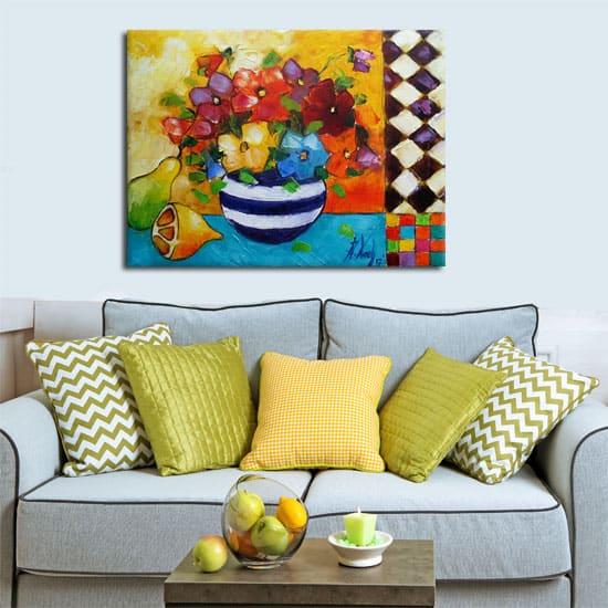 Ręcznie malowane obrazy mają niepowtarzalny klimat, dzięki czemu są tak uwielbiane przez koneserów sztuki