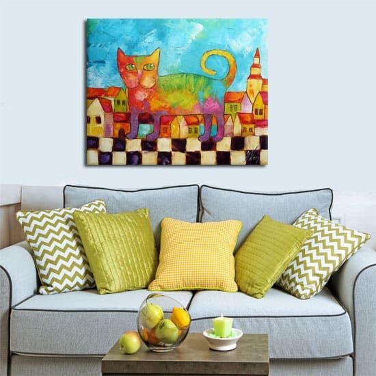 Obrazy malowane na płótnie do salonu charakteryzują się tak wielką różnorodnością, że trudno wśród nich wybrać te najpiękniejszy