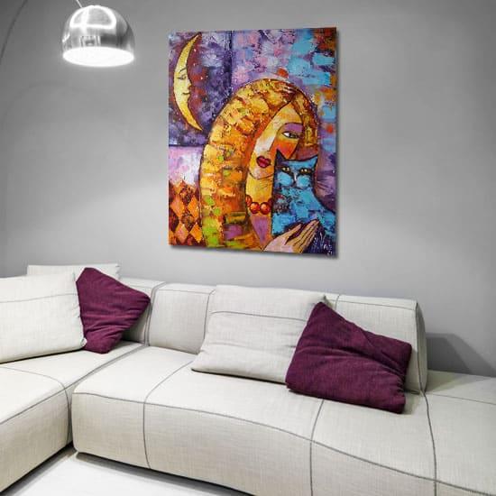 Obrazy olejne ręcznie malowane na płótnie podkreślą specyfikę danego pomieszczenia i będzie odpowiadał upodobaniom właścicieli