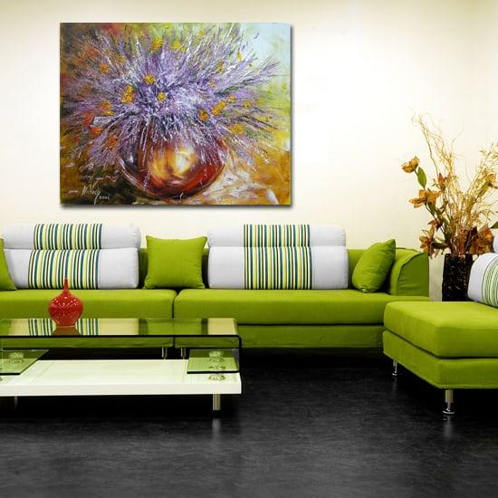 Lawenda obrazy olejne – przepiękne prowansalskie motywy na ręcznie malowanym płótnie