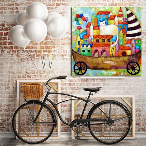 obrazy na ścianę ręcznie malowane