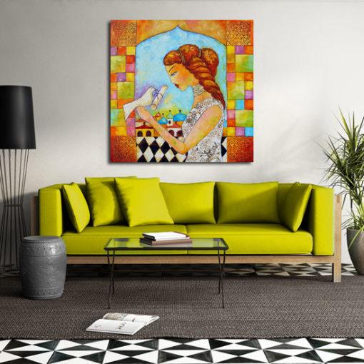 anna wach obraz malowany