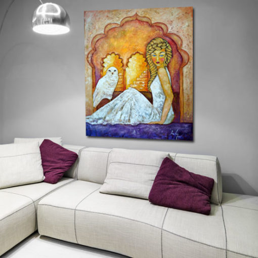 Anna Wach obraz olejny Aurora