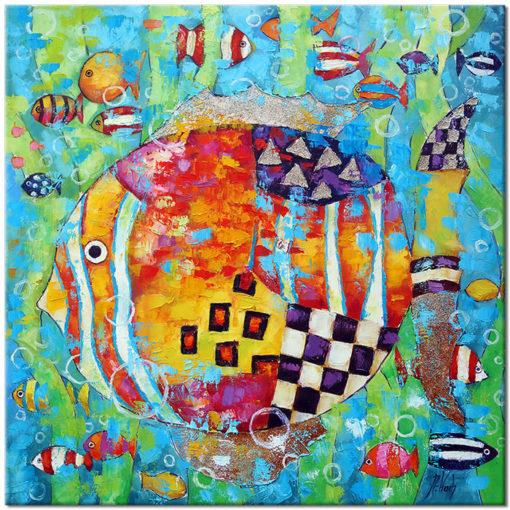 obraz kolorowe głebiny
