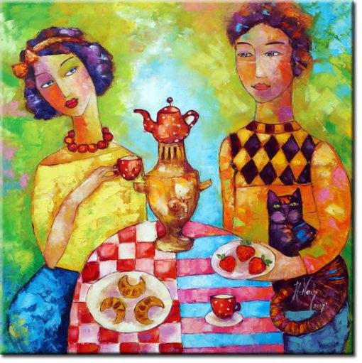 malarstwo olejne Anna Wach