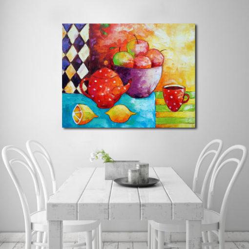 nowoczesne kolorowe obrazy Anna Wach