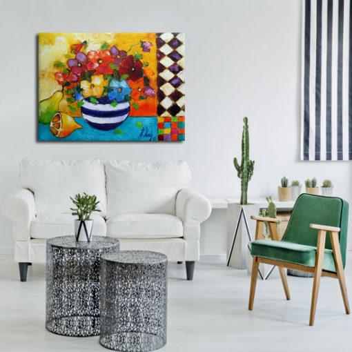 obrazy ręcznie malowane na płótnie