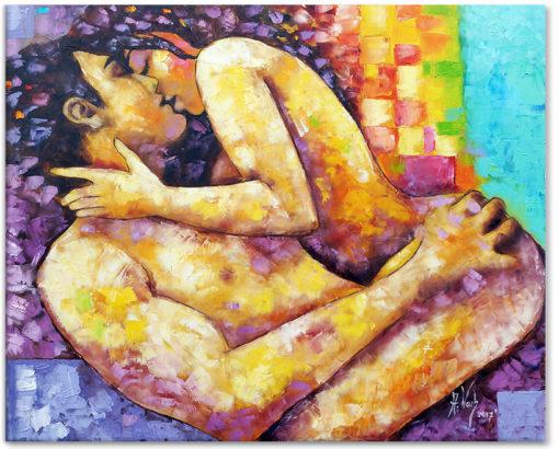 obraz olejny alchemia miłości