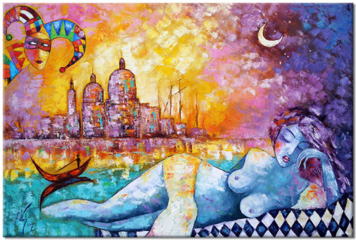 obraz sen o Wenecji