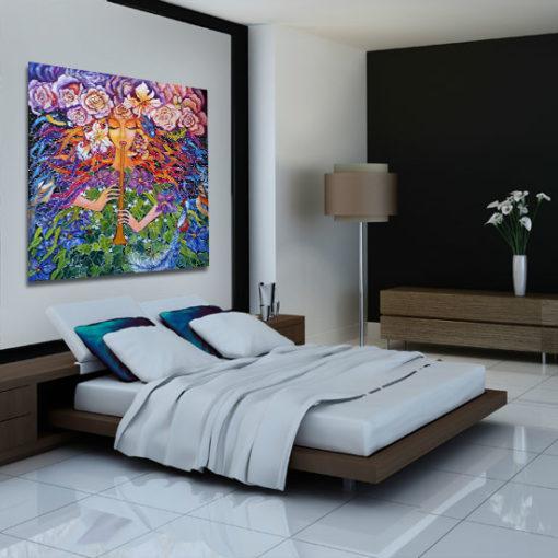 kolorowe obrazy Anny Wach