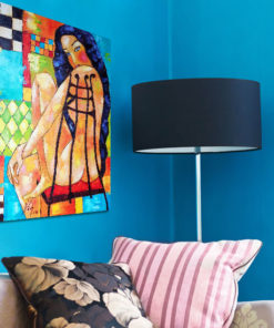 obraz malowany naga kobieta
