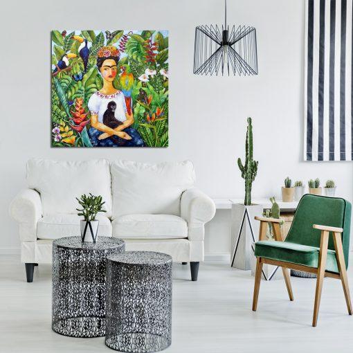 obraz Anny Wach z portretem Fridy