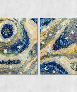 dwuczęściowy obraz - reprodukcja malarstwo obrazu