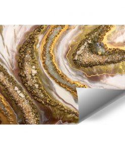 Foto-tapeta przedstawiająca kremową abstrakcję