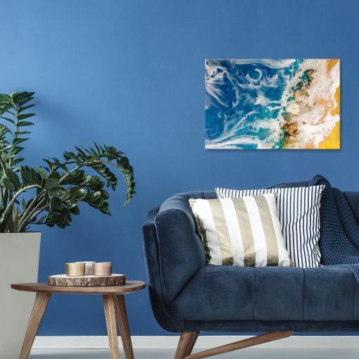 Obraz morski geode art