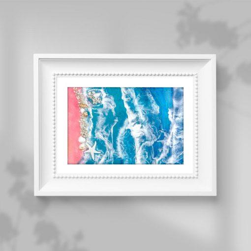 Plakat - Piaszczysta plaża i morze do sypialni
