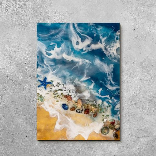 Obraz resin sea - Motyw morski