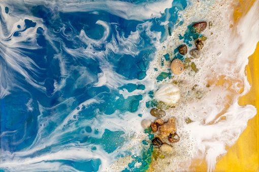 Obraz z motywem morskim