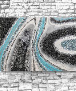 Obraz - Przeźroczysty kwiat w abstrakcji