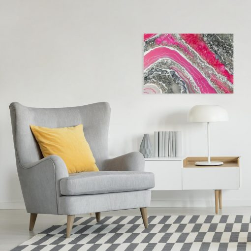 Obraz abstrakcyjny - Pink