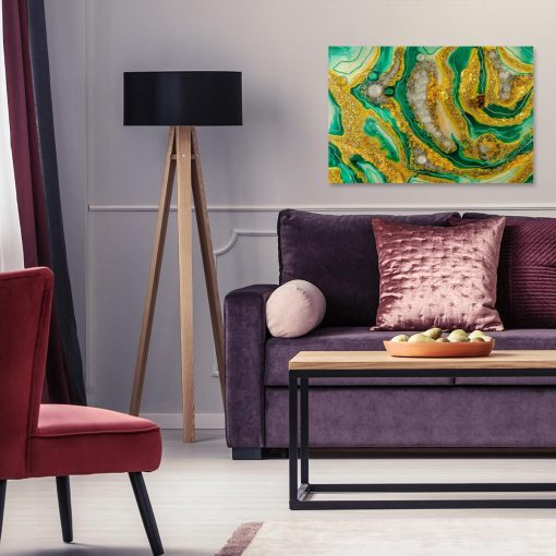 Obraz reprodukcja sztuki z żywicy abstrakcja nowoczesna