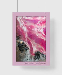 Plakat - Różowe morze