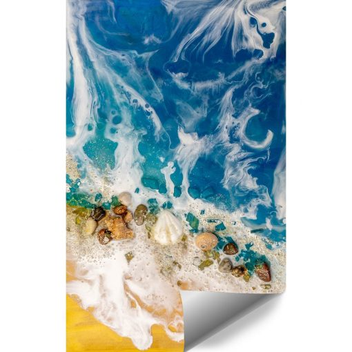 Fototapeta resin sea z motywem morskim