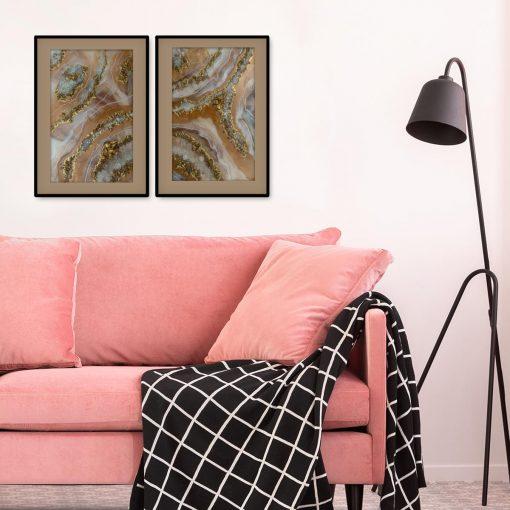 Plakat - Podwójna abstrakcja