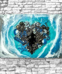 Obraz - Morze i serce