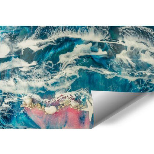 fototapeta z motywem morza i plaży abstrakcyjna