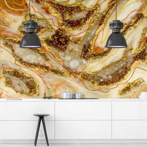 fototapeta do kuchni dekoracja z żywicy abstrakcja różne wzory