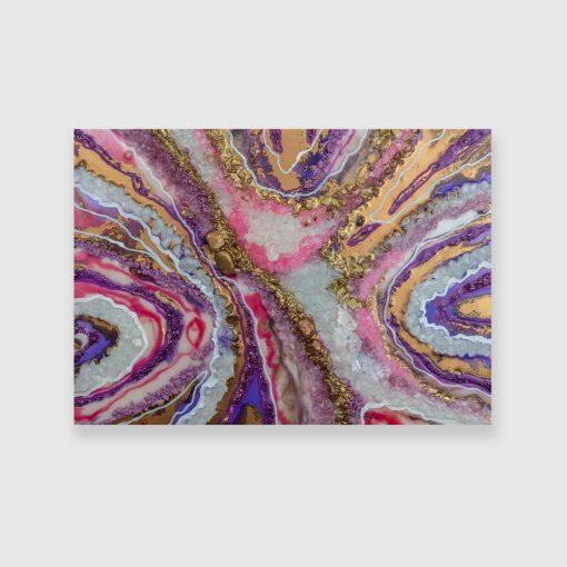 Obraz - Abstrakcyjne kryształy