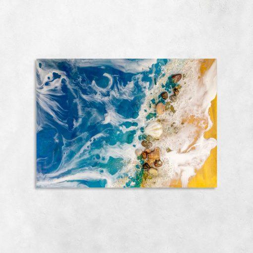 Morski obraz resin art
